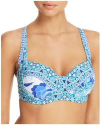 Bleu Rod Beattie - Sling Molded Cup Bikini Top - Lyst