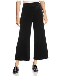 French Connection - Velvet Pajama Pants - Lyst