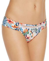 Lucky Brand Lucky Garden Bikini Bottom - Blue