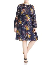 Lucky Brand - Smocked Drop Waist Dress - Lyst