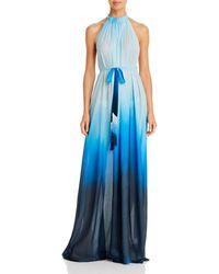 Jonathan Simkhai Midnight Ombré Dress Swim Cover - Up - Blue