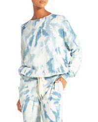 n:PHILANTHROPY Olympia Tie Dyed Sweatshirt - Blue