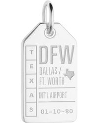 Jet Set Candy - Dfw Dallas Ft. Worth Luggage Tag Charm - Lyst