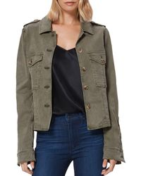 PAIGE Pacey Collared Jacket - Multicolor