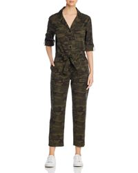 Sanctuary Camo Printed Jumpsuit - Green