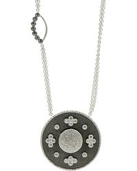 Freida Rothman - Double Side Pendant Necklace - Lyst
