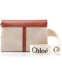 Chloé Woody Belt Bag - Brown