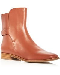 Via Spiga - Women's Vaughan Leather Booties - Lyst