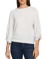 1.STATE - Lightweight Twist - Sleeve Sweatshirt - Lyst