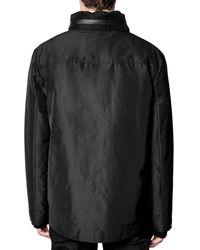 Zadig & Voltaire Bruce Tech Jacket - Black