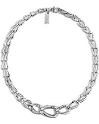 John Hardy - Bamboo Silver Necklace - Lyst