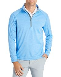 Vineyard Vines New Sankaty Quarter - Zip Jumper - Blue