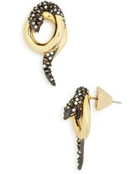 Alexis Bittar - Coiled Snake Post Earrings - Lyst
