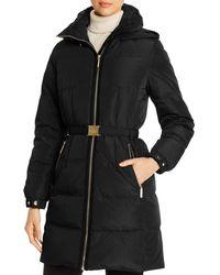 Kate Spade Puffer Coat - Black