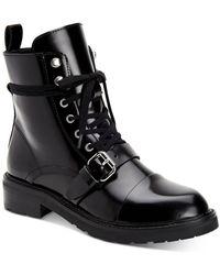 AllSaints - Women's Donita Combat Boots - Lyst