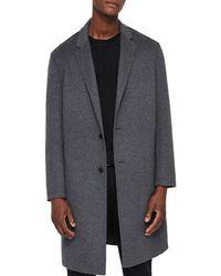 AllSaints Foley Oversized Coat - Gray