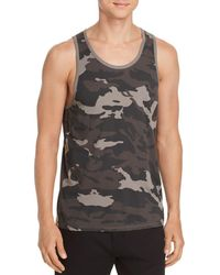 ATM - Camouflage - Print Tank - Lyst