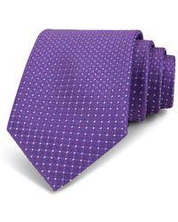 Bloomingdale's - Neat Circle & Diamond Silk Classic Tie - Lyst