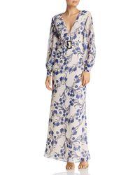aca1bc6fe300 Fame   Partners - Adorne Floral-print Maxi Dress - Lyst