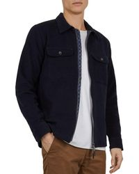 71ac54cc9ccd96 Lyst - Ted Baker Garyen Quilted Jacket in Black for Men