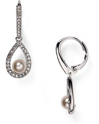 Nadri - Swarovski Crystal Drop Earrings - Lyst