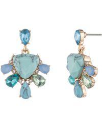 Carolee - Double Drop Earrings - Lyst