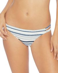 Splendid - Line Of Sight Double Strap Bikini Bottom - Lyst