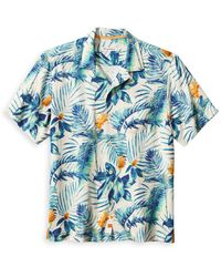 Tommy Bahama - Canopy Flora Regular Fit Camp Shirt - Lyst