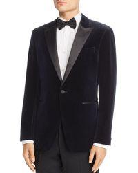 Theory - Chambers Velvet Slim Fit Tuxedo Jacket - Lyst