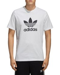 adidas Originals - Trefoil Short Sleeve Tee - Lyst