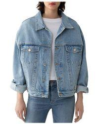Agolde Charli Jacket - Blue
