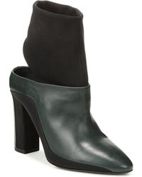 Via Spiga - Women's Agyness Mixed Media Booties - Lyst