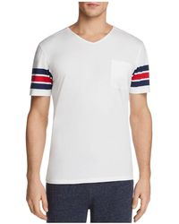 Daniel Buchler - Striped Lounge V-neck Tee - Lyst