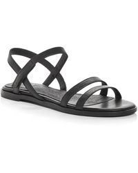 Eileen Fisher Cahill Strappy Sandals - Black