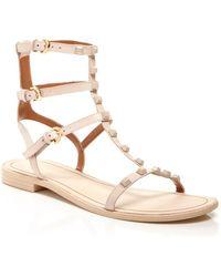 Rebecca Minkoff Georgina Studded Gladiator Sandal - Pink