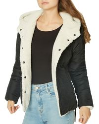 Sanctuary - Reversible Faux-fur & Quilted Coat - Lyst