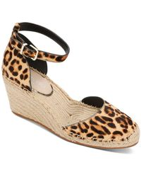 Kenneth Cole Olivia Low Closed Toe Wedge Sandals - Multicolour