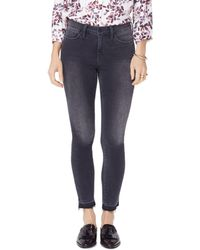 NYDJ - Petites Ami Released-hem Ankle Jeans In Olympic - Lyst