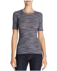 Theory   Refine Fitted Merino Wool Tee   Lyst