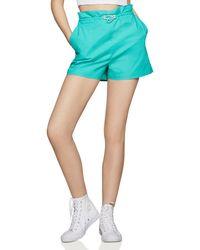 BCBGeneration - Pull-on Paperbag-waist Shorts - Lyst