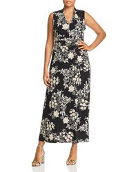 Vince Camuto Signature - Floral Getaway Maxi Dress - Lyst