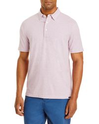 Faherty Brand Movement Regular Fit Polo - Pink