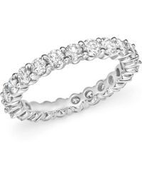 Bloomingdale's Diamond Eternity Band In 14k White Gold