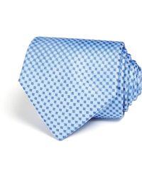 Bloomingdale's - Micro Grid Wide Tie - Lyst
