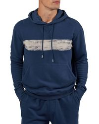 ATM French Terry Pullover Hoodie - Blue