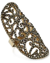 Roni Blanshay - Greige Lacey Ring - Lyst