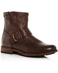 Frye Women's Tyler Engineer Boots - Brown