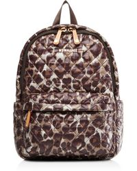 MZ Wallace - Leopard Small Metro Backpack - Lyst