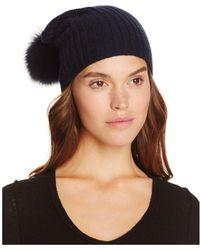 Magaschoni Fur Trim Hat - Multicolour