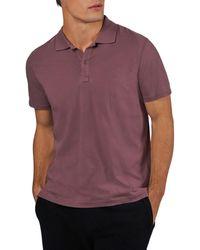 ATM Atm Anthony Thomas Melilo Classic Fit Polo Shirt - Purple